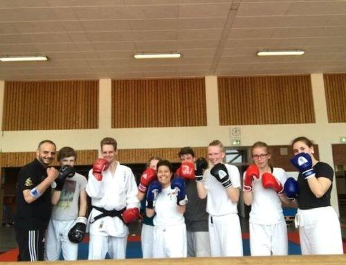 Boxtraining für Judokas